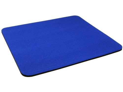 Cables Direct DARK BLUE MOUSE MAT 6MM CLOTH&RUBBER