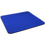 Cables Direct DARK BLUE MOUSE MAT 6MM CLOTH&RUBBER Blue