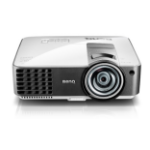 Benq MX819ST 3000ANSI lumens DLP XGA (1024x768) 3D compatibility Portable projector Black,White Data Projector