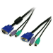 StarTech.com 6 ft 3-in-1 PS/2 KVM Cable