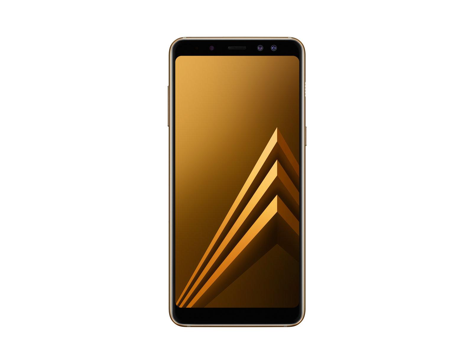 """Samsung Galaxy A8 SM-A530F 5.6"""" Single SIM 4G 4GB 32GB 3000mAh Gold SM-A530FZDABTU"""