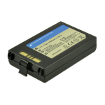 2-Power Barcode/Scanner Battery 3.7v 1950mAh
