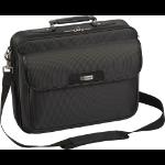 "Targus TBC023US 15.4"" Notebook briefcase Black notebook case"
