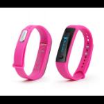 "Technaxx TX-38 Wristband activity tracker 0.91"" OLED Wireless Black,Pink"