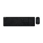 Veho HUT8 WZ-1 keyboard RF Wireless QWERTY UK English Black VHK-001-WZ1