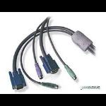ADDER DVI-i/VGA adapter cable Male - Male 2 Mtr