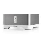 Sonos CONNECT:AMP 2.1 channels Home White