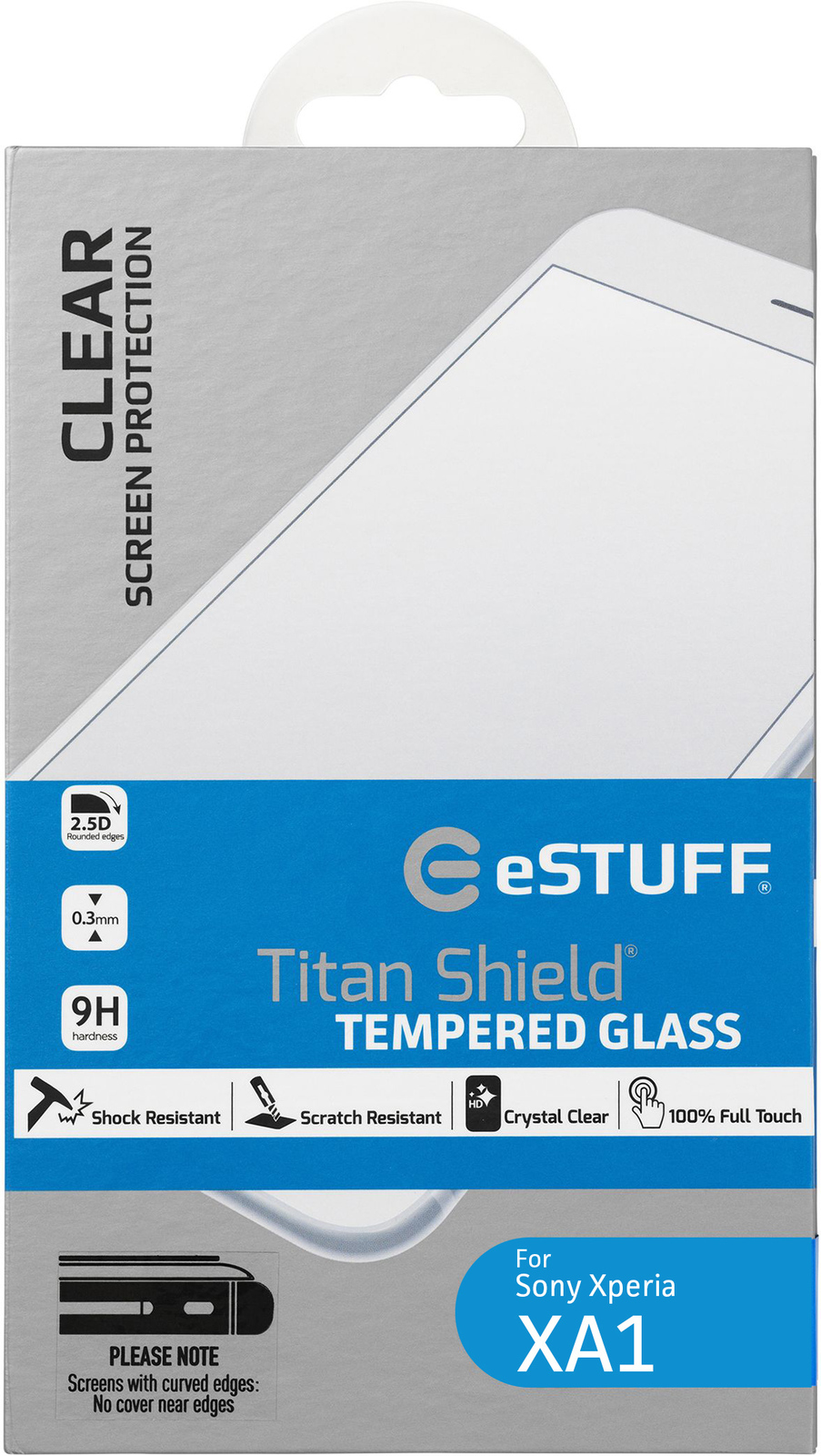 eSTUFF ES10228 Xperia XA1 1pc(s) screen protector