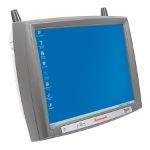 "Honeywell Thor VX9 12.1"" 800 x 600pixels Touchscreen 3700g Grey handheld mobile computer"