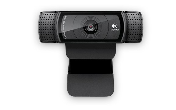 Logitech HD Pro Webcam C920 1920 x 1080pixels USB 2.0 Black webcam