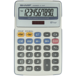 Sharp EL-334F calculator Desktop Financial Grey