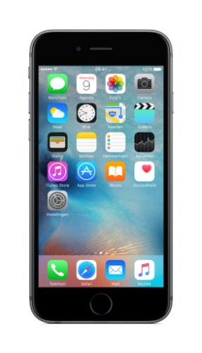 "Apple iPhone 6s 11.9 cm (4.7"") 128 GB Single SIM 4G Grey"