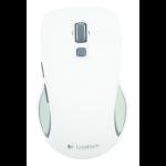 Logitech M560 RF Wireless Laser Ambidextrous White mice