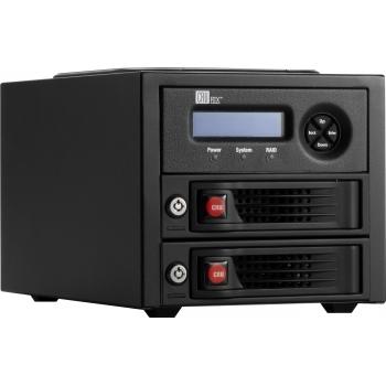 """CRU RTX220-3QR 3.5"""" Black"""