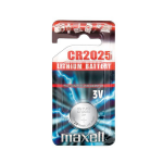 Maxell CR2025 non-rechargeable battery Lithium 3 V