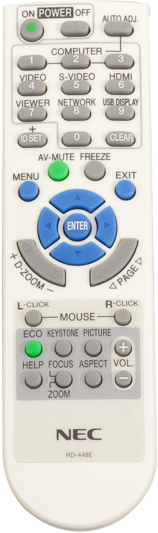 NEC Remote Controller RD-448E - Approx 1-3 working day lead.