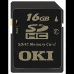 OKI 01272701 memory card 16 GB SDHC Class 6