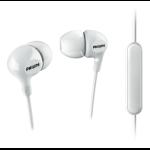 Philips SHE3555WT/00 headphones/headset In-ear White