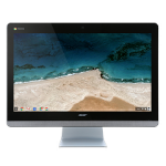 """Acer Chromebase CA24V-CT 1.7GHz 3215U 23.8"""" 1920 x 1080pixels Touchscreen Black,Silver All-in-One PC"""