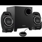 Creative Labs T3250W speaker set 2.1 channels Black