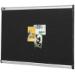 QUARTET PRESTIGE FABRIC BOARD FOAM 1200 X 900MM BLACK