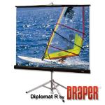 "Draper Diplomat/R projection screen 109"" 16:10"