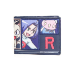 POKEMON Team Rocket Bi-Fold Wallet, One Size, Multi-colour (MW290218POK)