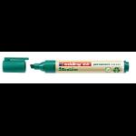 Edding 22 EcoLine permanent marker Chisel tip Green
