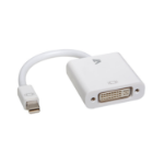 V7 White Video Adapter Mini DisplayPort Male to DVI-D Male