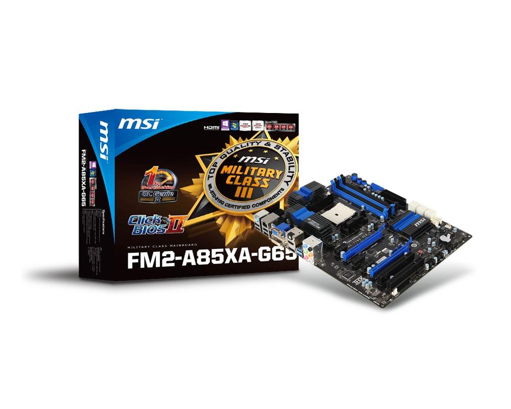 MSI FM2-A85XA-G65 motherboard