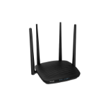 Tenda AC5 1200MBPS DUAL-BAND ROUTER Dual-band (2.4 GHz / 5 GHz) Fast Ethernet Black wireless router