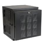 Tripp Lite 12U SmartRack NEMA 12 Wall-Mount Rack Enclosure Cabinet for Harsh Environments, Switch-Depth, Hinged Back