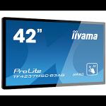"iiyama TF4237MSC-B3AG signage display Digital signage flat panel 106.7 cm (42"") LED Full HD Black Touchscreen"