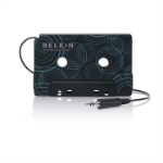 "Belkin F8V366bt audio cassette adapter 3.5 mm (1/8"") Black"