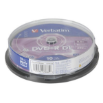 Generic Verbatim DVD+R DL 8.5GB 8x Spindle 10 Pack