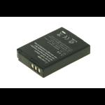 2-Power Digital Camera Battery 3.7V 1000mAh rechargeable battery