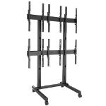 "Chief LVM3X2UP flat panel floorstand 116.8 cm (46"") Portable flat panel floor stand Black"