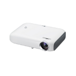 LG PW1000 Desktop projector 1000lúmenes ANSI DLP WXGA (1280x800) 3D Color blanco video proyector