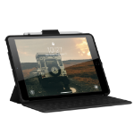"Urban Armor Gear 121918B14040 tablet case 25.9 cm (10.2"") Folio Black"