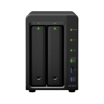 Synology DS716+II NAS Desktop Ethernet LAN Black storage server