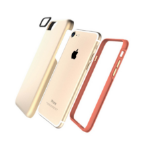 "Jivo Technology Combo Tough mobile phone case 11.9 cm (4.7"") Cover Gold"