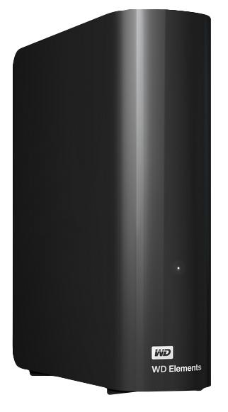 Western Digital Elements Desktop 4TB 3.0 (3.1 Gen 1) 4000GB Black