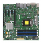 Supermicro X11SCQ server/workstation motherboard LGA 1151 (Socket H4) Micro ATX Intel Q370