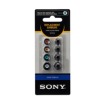 Sony EP-EX10A Black 4pc(s) headphone pillow