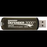 Kanguru Defender 3000 USB flash drive 128 GB USB Type-A 3.2 Gen 1 (3.1 Gen 1) Brown