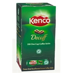 KENCO Coffee Sticks Instant Decaff Ref 89951 [Pack 200]