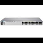Hewlett Packard Enterprise Aruba 2920 24G POE+ Managed network switch L3 Gigabit Ethernet (10/100/1000) Power over Ethernet (PoE) 1U Grey