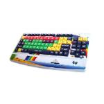 Accuratus KYB-MON2ELW-LCUH USB QWERTY English Multicolour keyboard