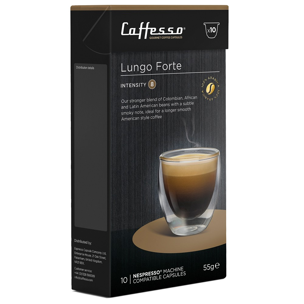 Caffesso Lungo Nespresso compatible coffee pods