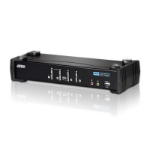 ATEN 4 PORT USB 2.0 DVI KVMP SWITCH. Support HDCP, Video DynaSync, Single Link, Audio, Mouse/Keyboard emu
